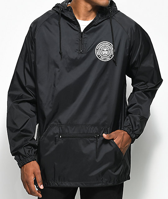 Obey Propaganda Co. Black Anorak Jacket | Zumiez