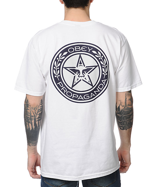 Obey Propaganda Luxury White T-Shirt