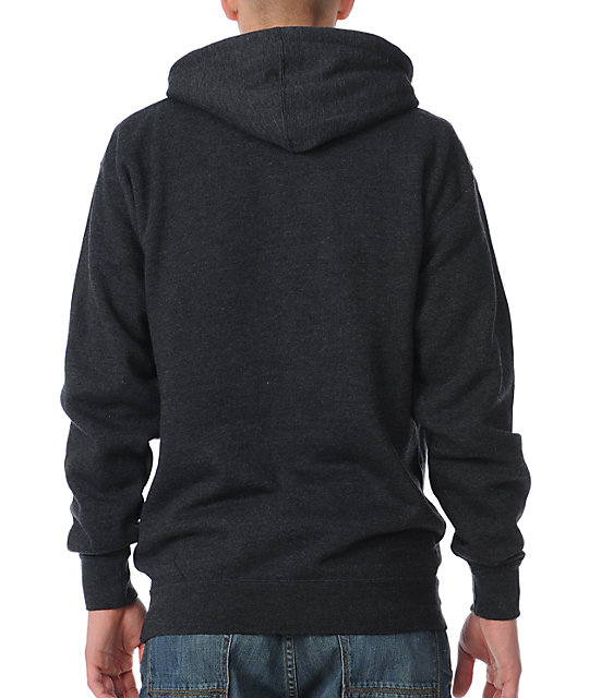Obey Puretone Charcoal Grey Pullover Hoodie