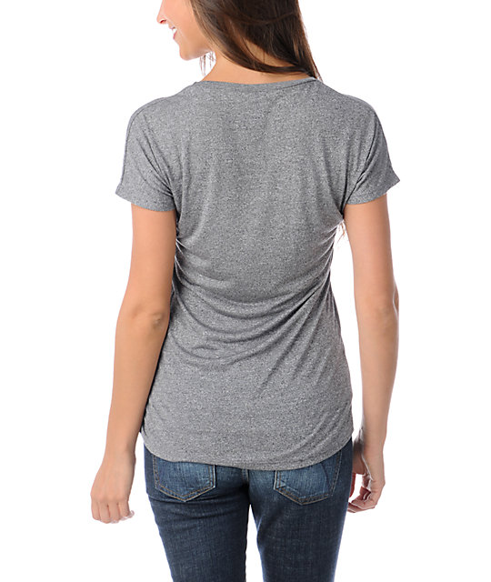 Obey Rose Paste Heather Grey T-Shirt