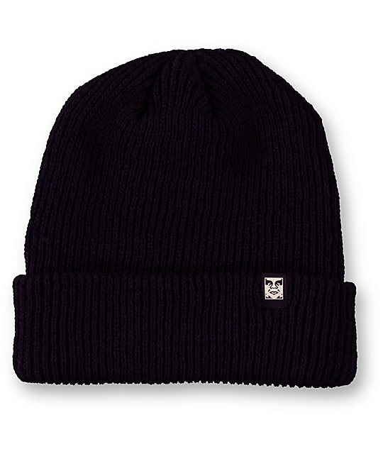 Obey Ruger Black Beanie
