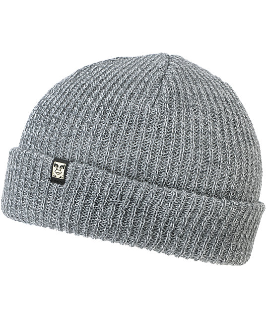 Obey Ruger Grey Beanie