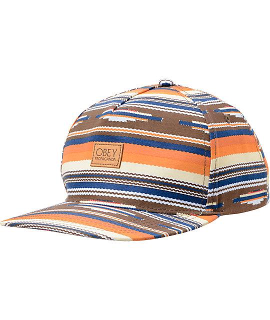 Obey San Juan Strapback Hat