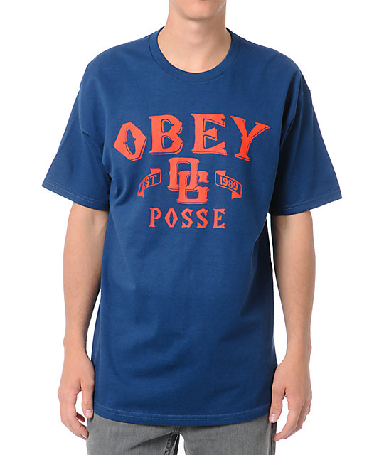 Obey Sandlot Blue T-Shirt