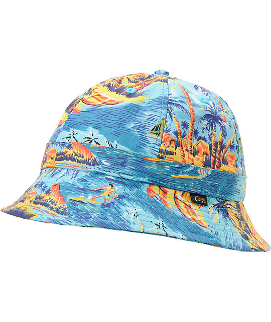 Obey Serpico Island Bucket Hat