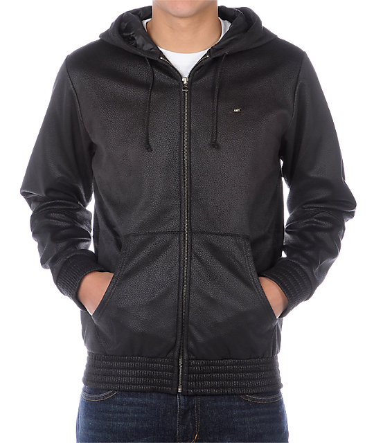 Obey Silent Shout Black Jacket