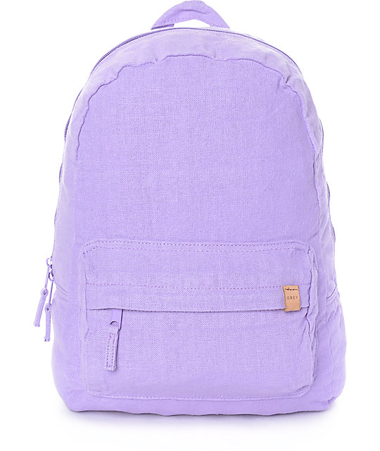 Obey Southside Lavender Backpack