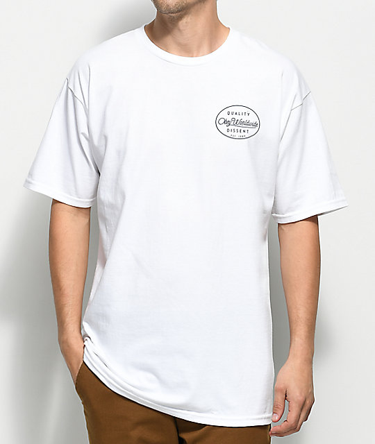 Obey Specimen White T-Shirt