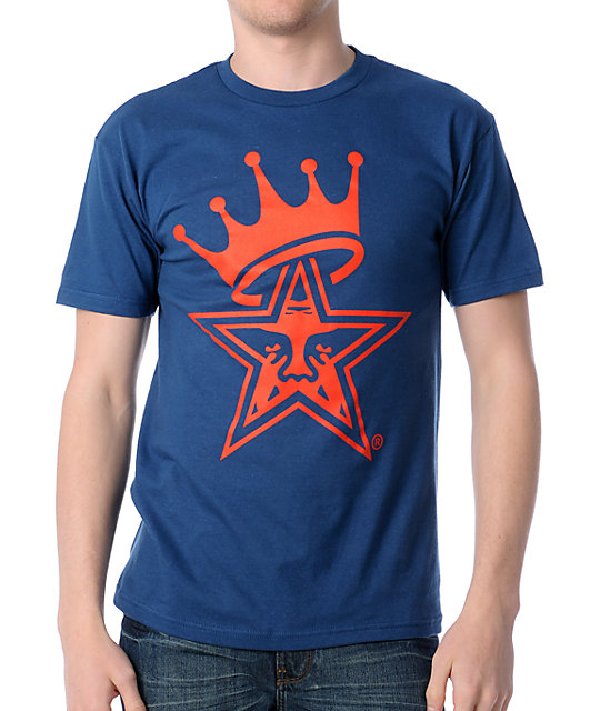 Obey Star Crown Blue T-Shirt