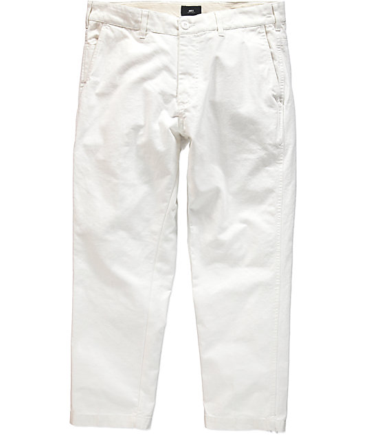 Obey Straggler Carpenter II White Pants