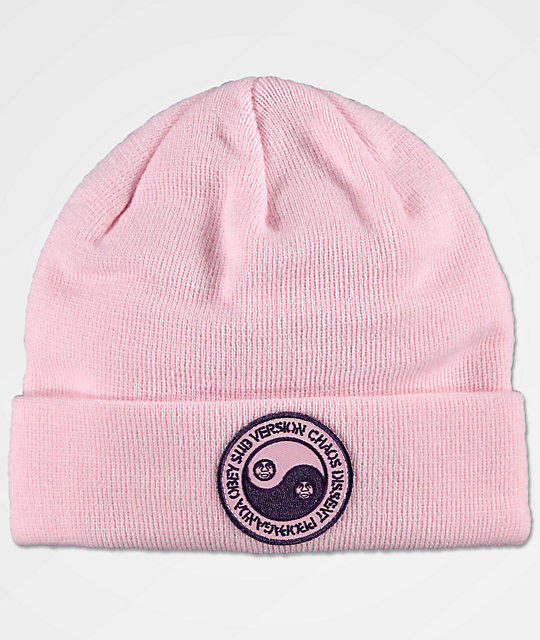 Obey Subversion Pink Beanie by Obey