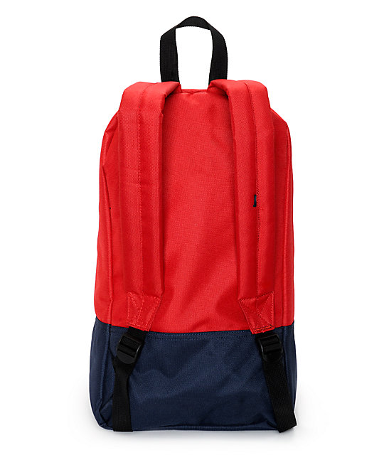 Obey Transit Red Backpack