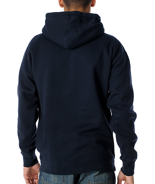 Obey Trusted Quality Navy Hoodie