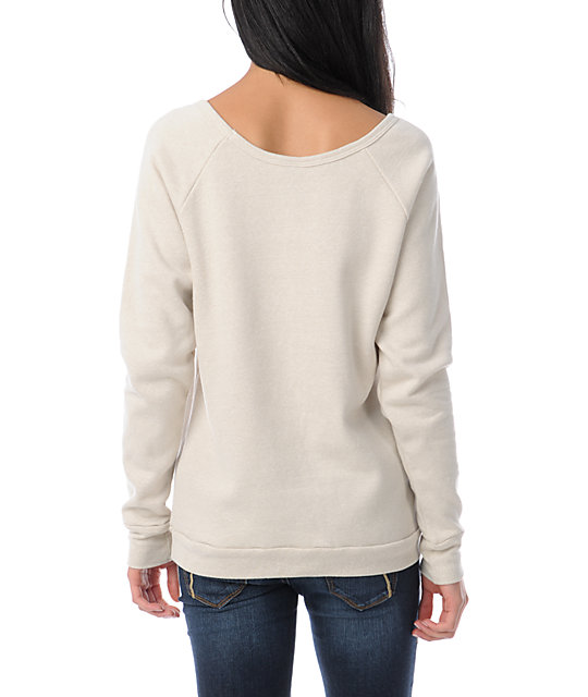 Obey United Geo Vandal Crew Neck Sweatshirt