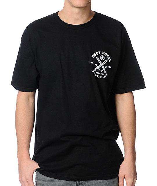 Obey Veni Vidi Vici Black T-Shirt