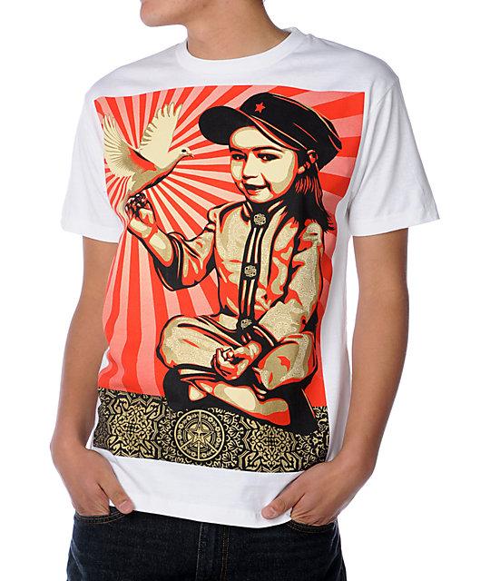 Obey Vivi La Revolucion White T-Shirt