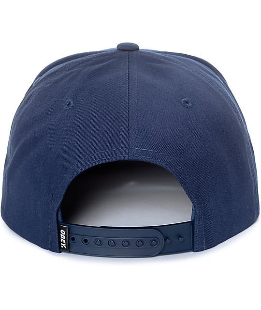 Obey Worldwide Dissent Navy Snapback
