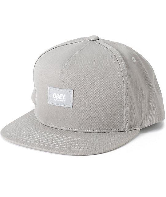 Obey Worldwide Snapback Hat