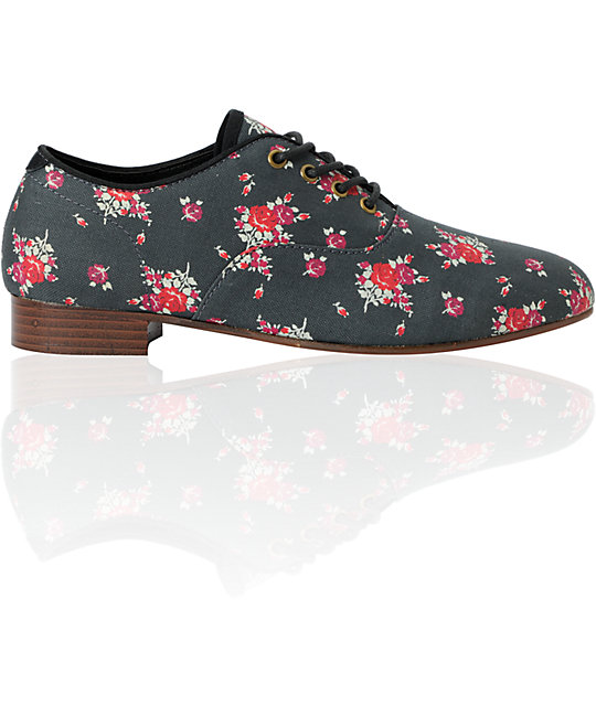 Obey x Generic Surplus Dury Floral Canvas Shoes