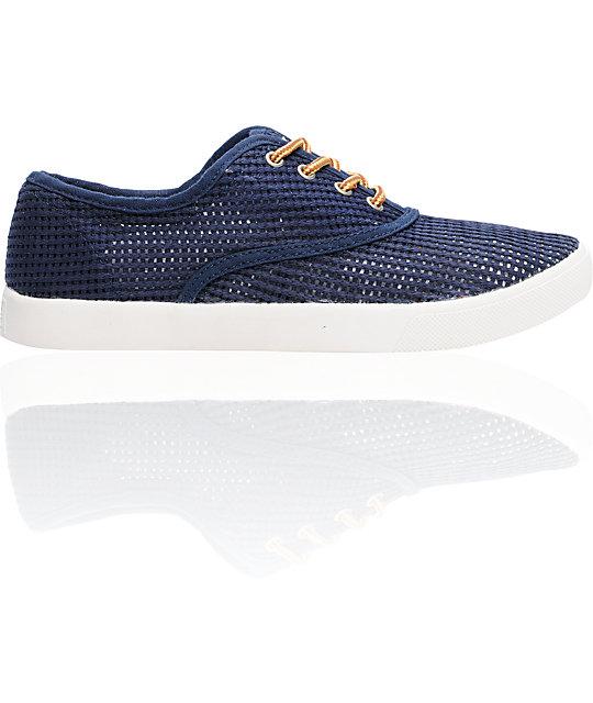 Obey x Generic Surplus Mesh Navy Shoes
