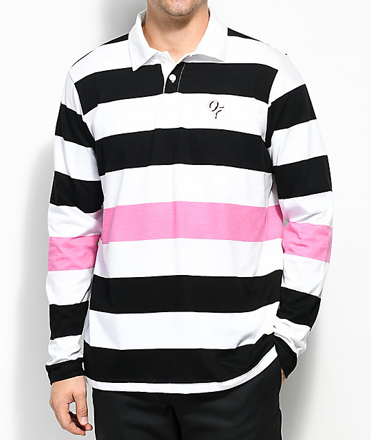 Black and white pink shirt south park t shirts for Pink white striped shirt