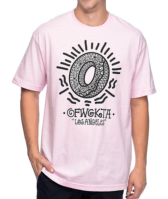 Odd Future Bling Donut Light Pink T-Shirt