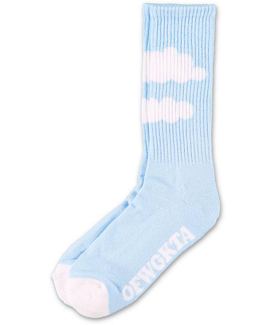 Odd Future Blue Cloud Crew Socks