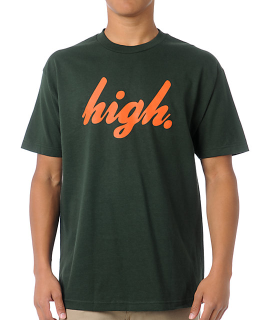 Odd Future Domo High Forest Green T-Shirt