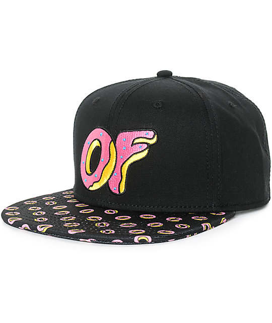 Odd Future Donut Bill Snapback Hat