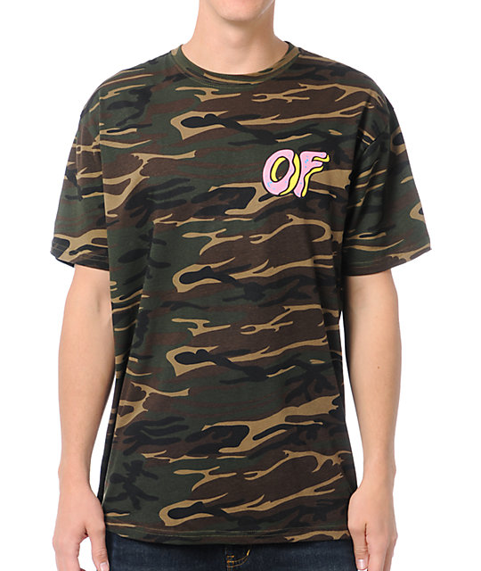Odd Future Donut Camo T-Shirt