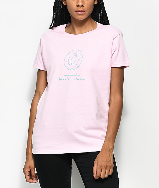 Odd Future Donut Light Pink T-Shirt