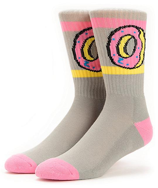 Odd Future Donut Pink Crew Socks
