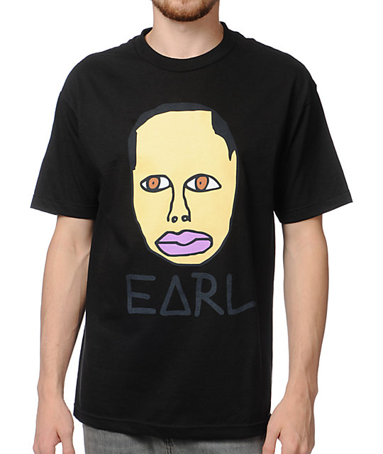 Odd Future Free Earl Black T-Shirt