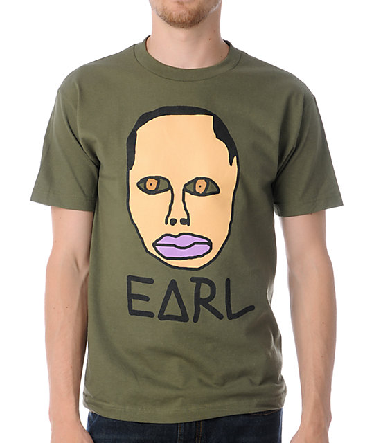 Odd Future Free Early Olive Green T-Shirt