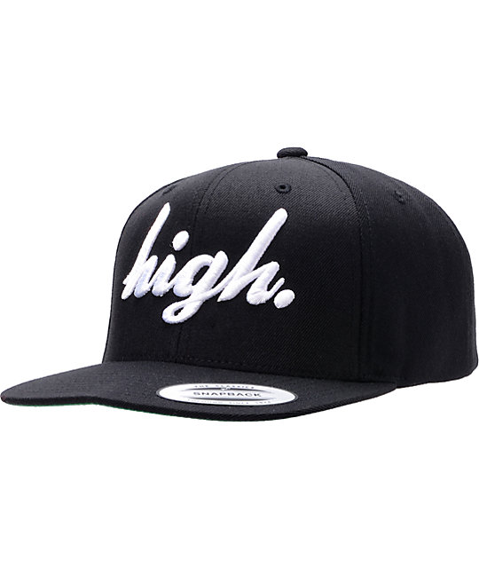 Odd Future High Black Snapback Hat