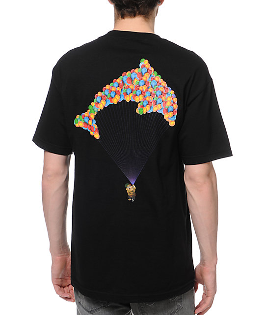 Odd Future Jasper Dolphin Balloon Black T-Shirt