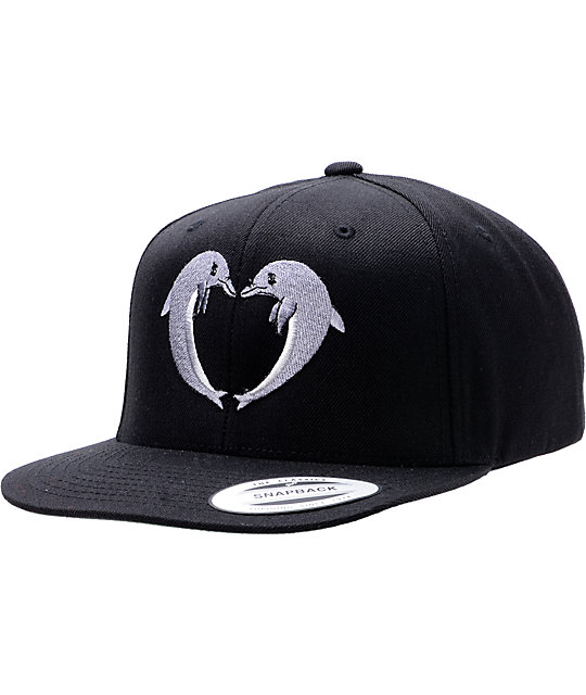 Odd Future Jasper Dolphins Black Snapback Hat