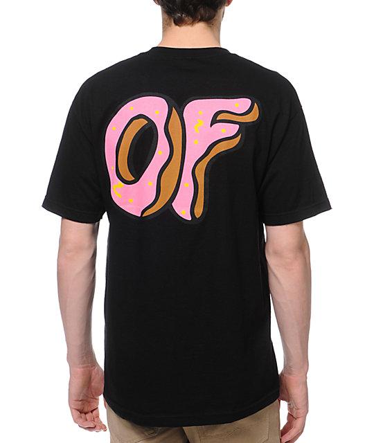 Odd Future New OF Donut Black T-Shirt