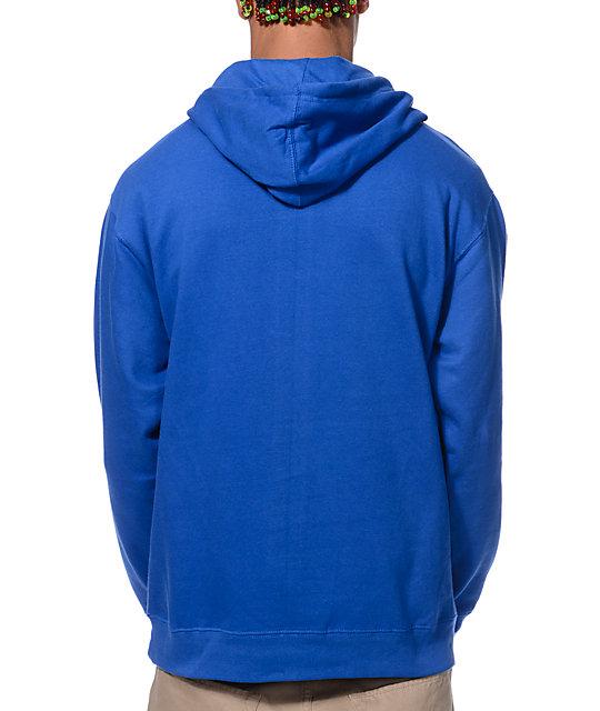 Odd future blue donut hoodie
