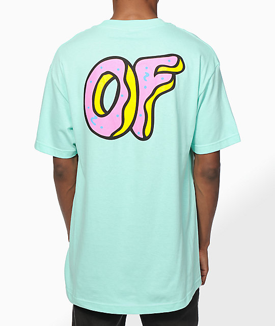 Odd future pastel of logo t shirt zumiez for Pastel colored men s t shirts