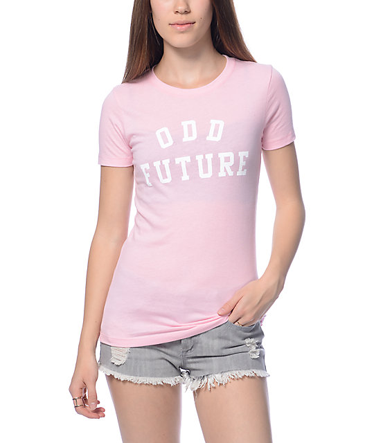 Odd Future Pastel Pink T-Shirt at Zumiez : PDP