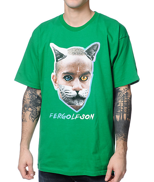 Odd Future x Real Skateboards Fergolfson Green T-Shirt