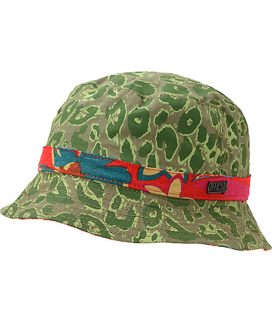 Official Cheetah Island Print Bucket Hat