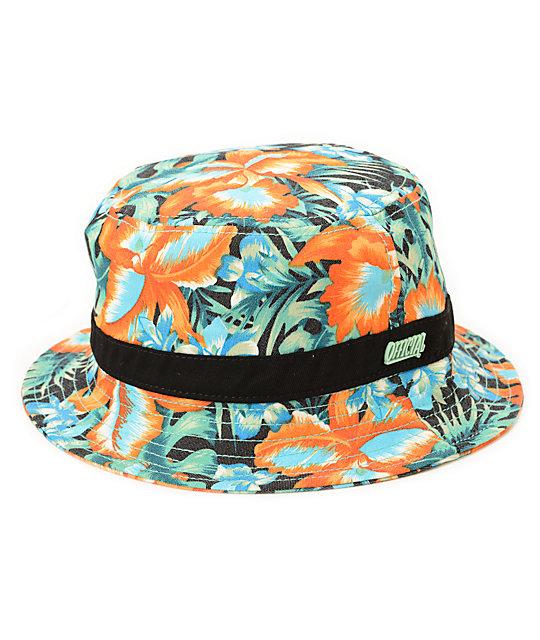 Official Criminology Floral Bucket Hat