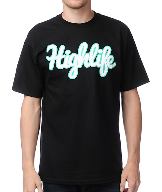 Official Crown Of Laurel Highlife III Black T-Shirt