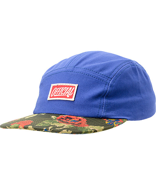 Official Crown Of Laurel Tuff Love Royal Blue 5 Panel Hat