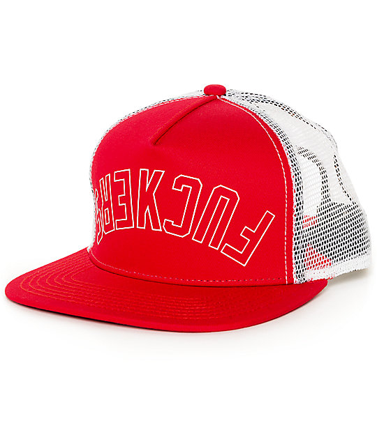 Official Effers Red & White Trucker Hat