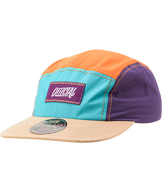 Official Sherbert Tech 5 Panel Hat