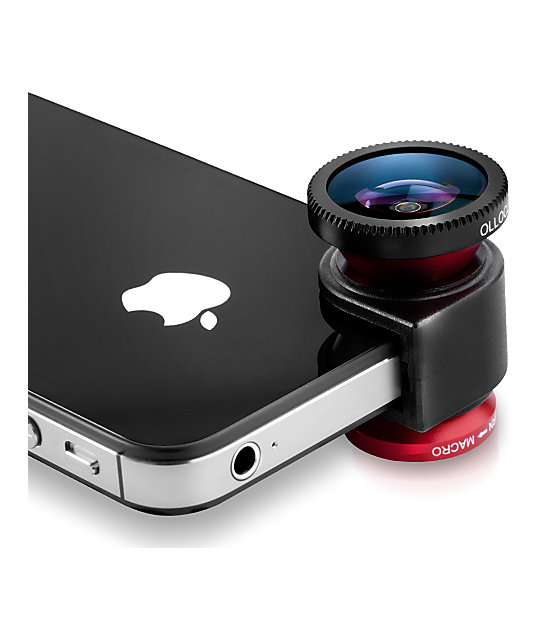 Olloclip 3-In-One iPhone 4 Photo Lens