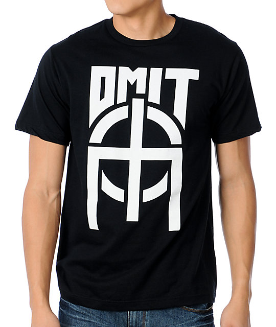 Omit Basic Black T-Shirt